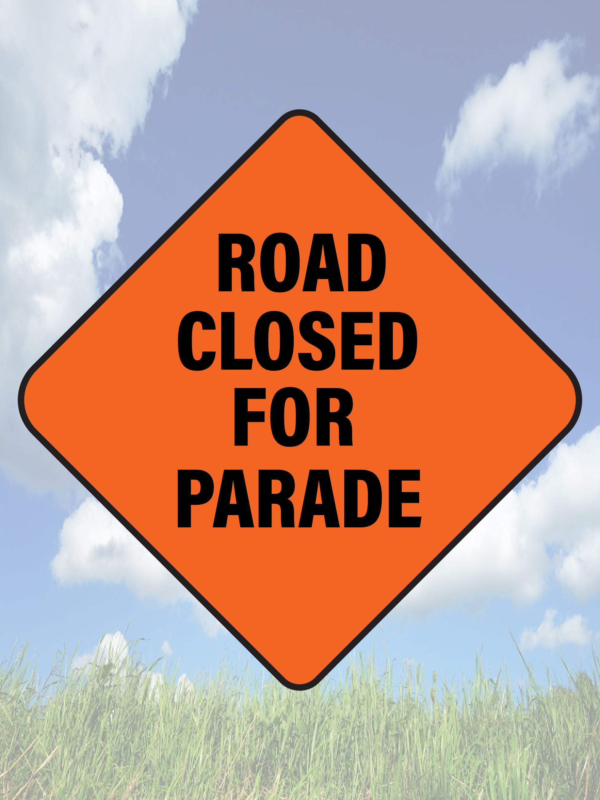 Road Closed for Parade