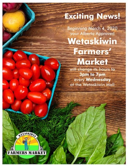 Farmers Market poster - Wet. Mall