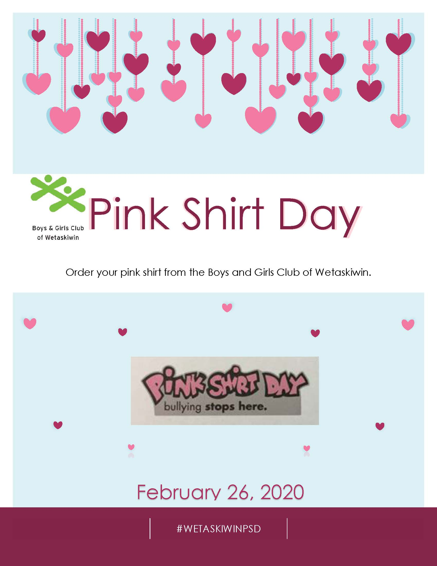 Pink Shirt Day Poster-2020