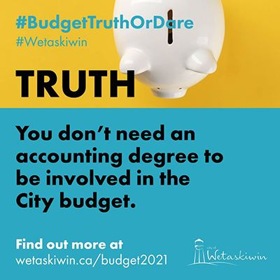 TRUTH - Budget2021 - No accounting degree required